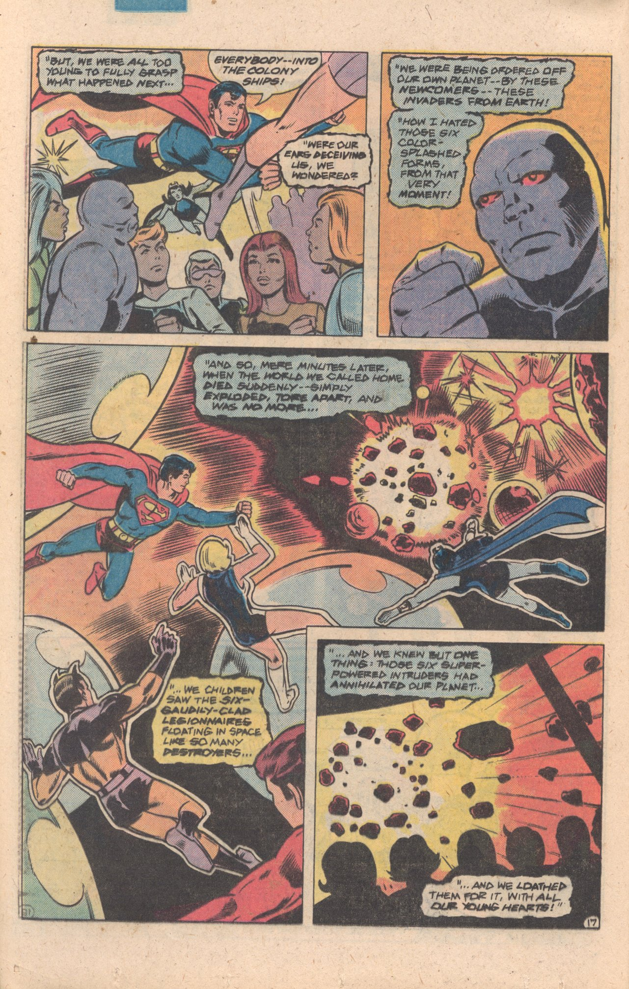 Legion of Super-Heroes (1980) 272 Page 17