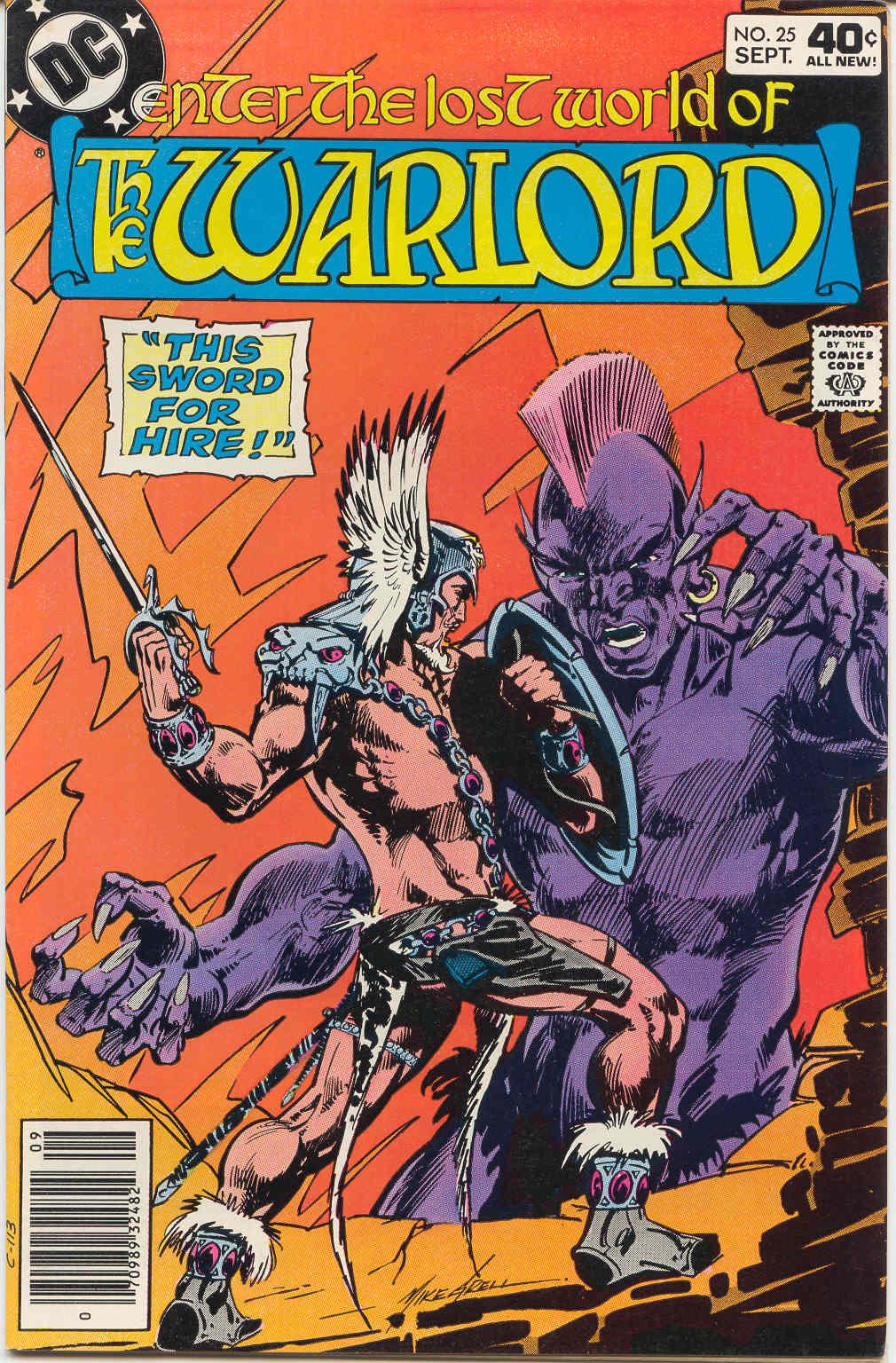 Warlord (1976) 25 Page 1