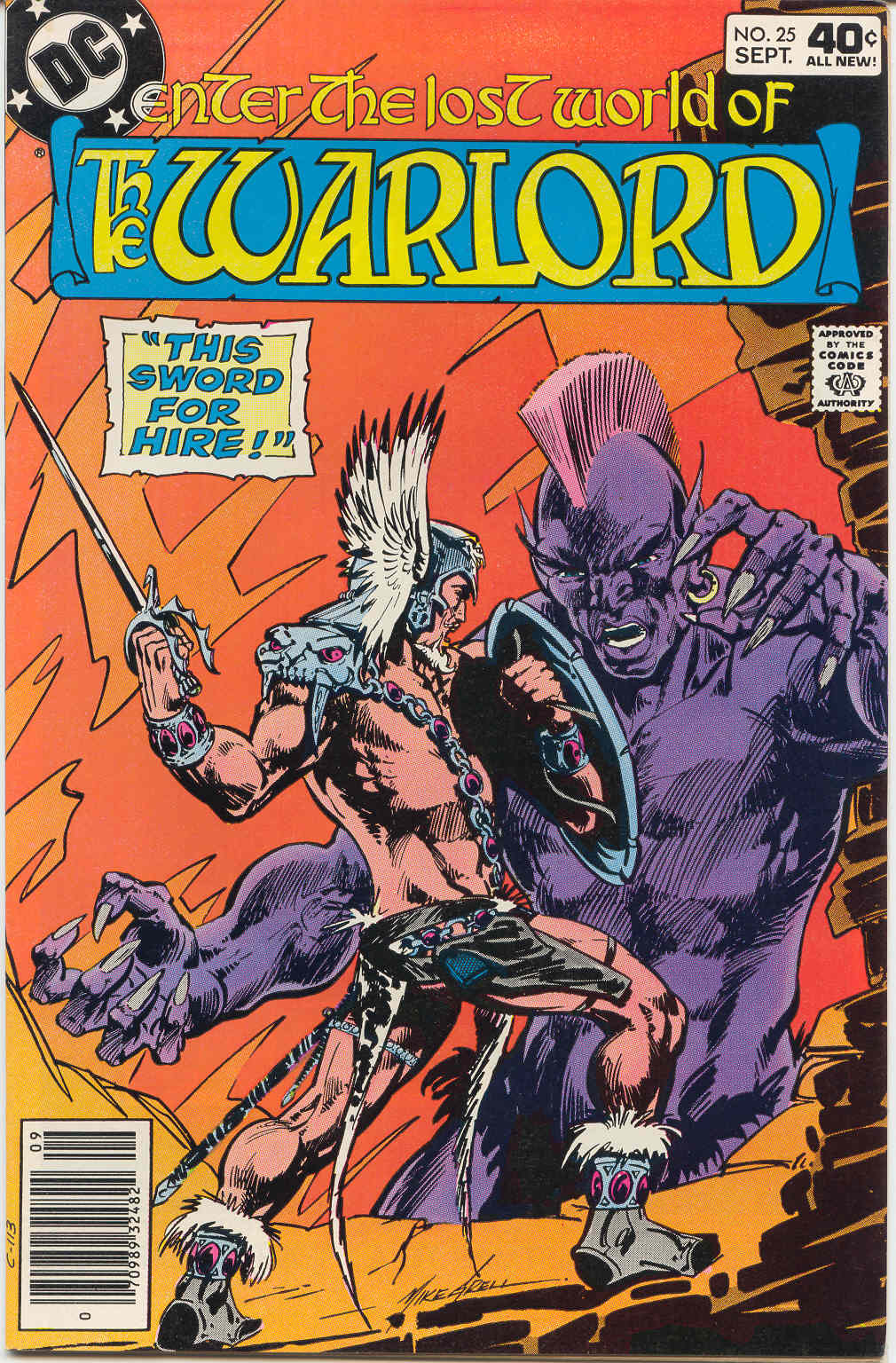 Warlord (1976) issue 25 - Page 1