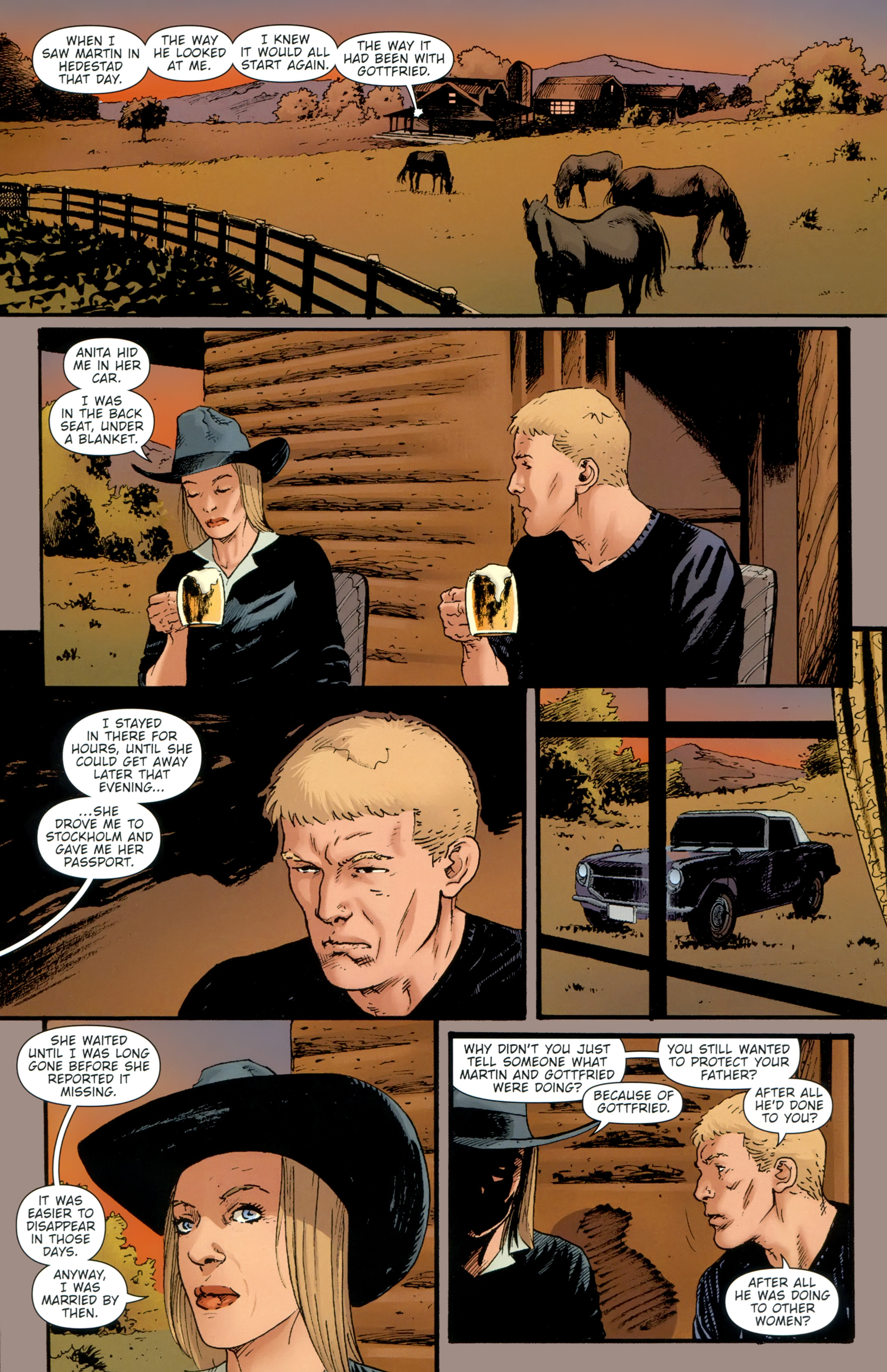 Read online The Girl With the Dragon Tattoo comic -  Issue # TPB 2 - 136