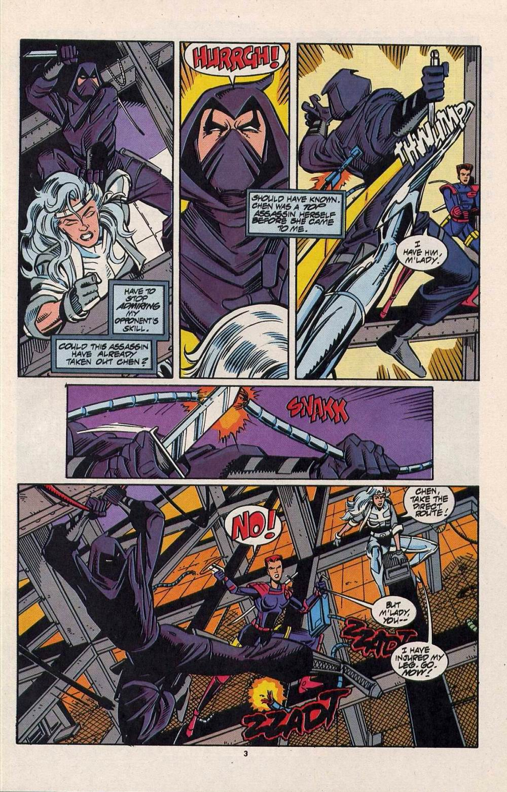 Read online Silver Sable and the Wild Pack comic -  Issue #28 - 4