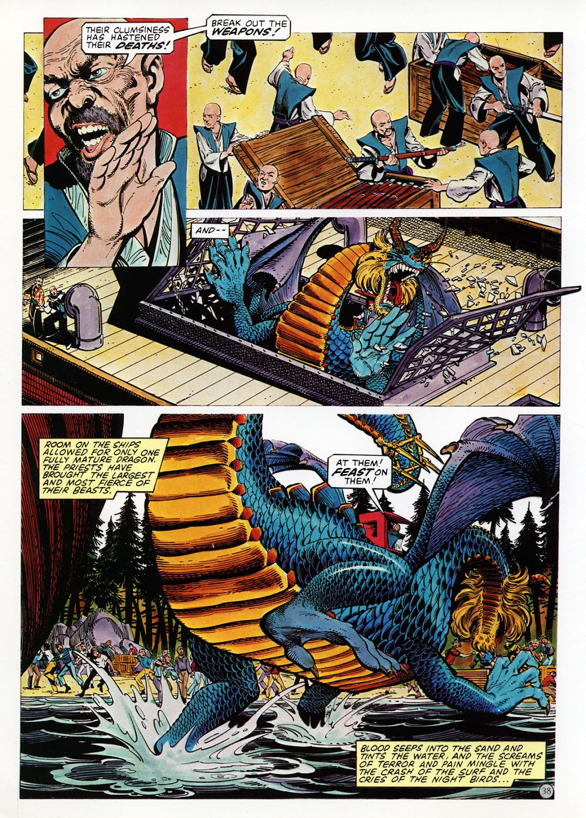 Read online Epic Graphic Novel: Last of the Dragons comic -  Issue # Full - 39