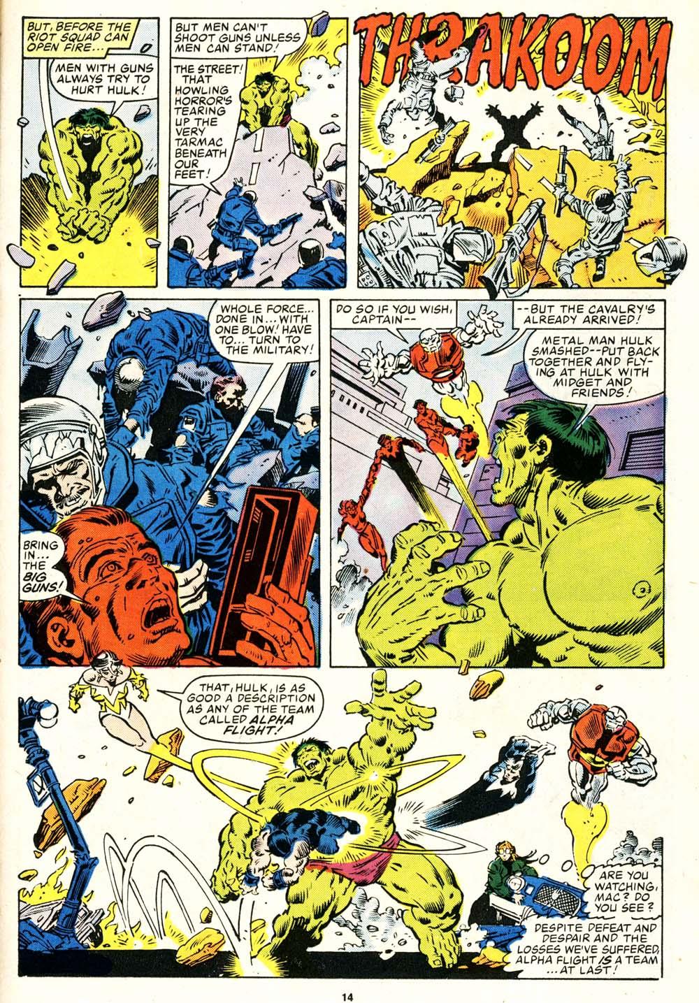 Read online Alpha Flight (1983) comic -  Issue #29 - 14