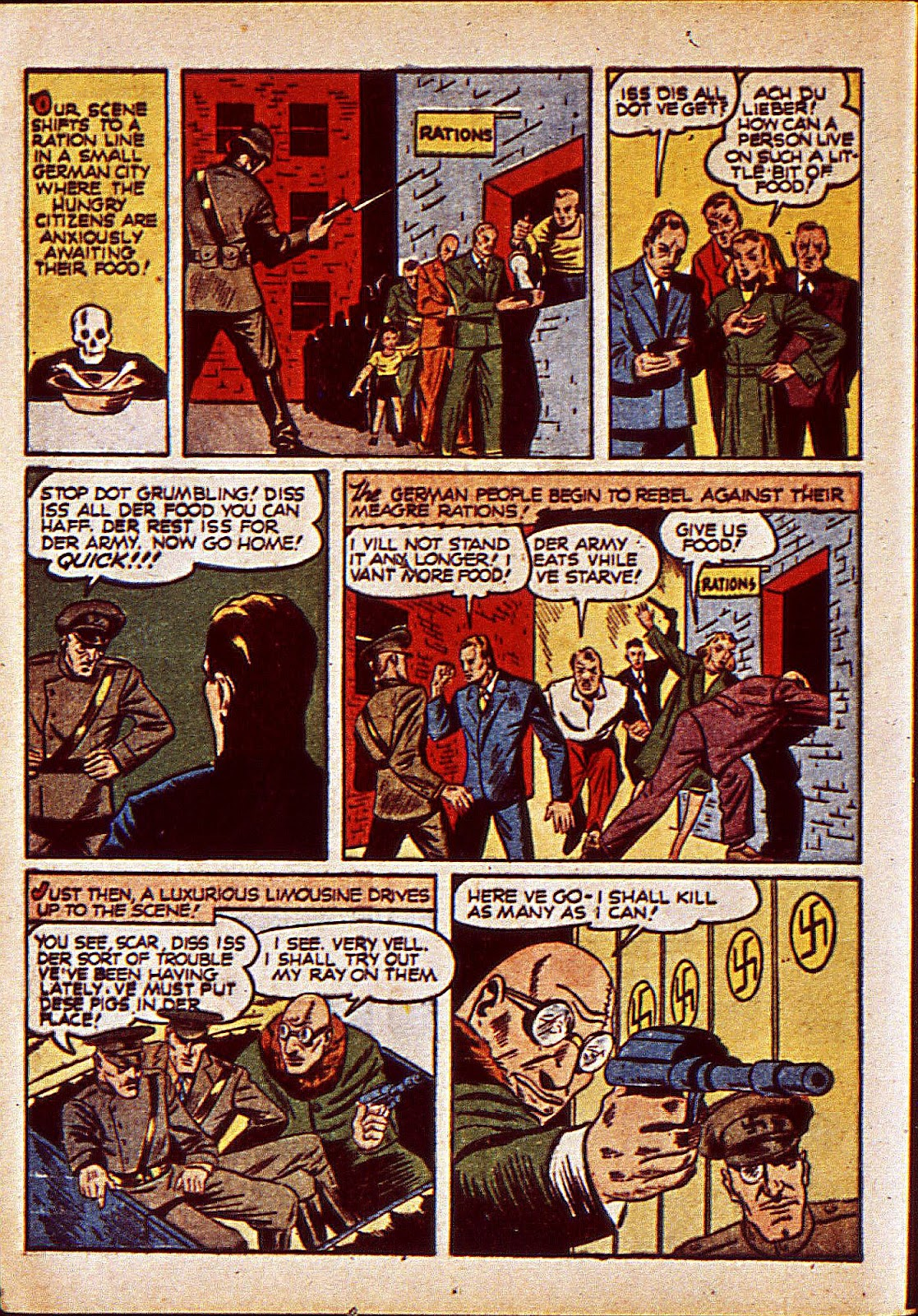 Mystic Comics (1940) issue 6 - Page 21