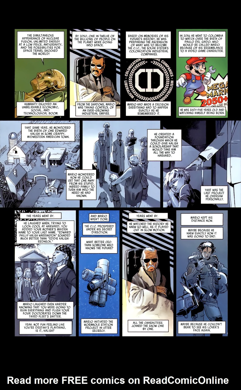 Read online Universal War One: Revelations comic -  Issue #3 - 34