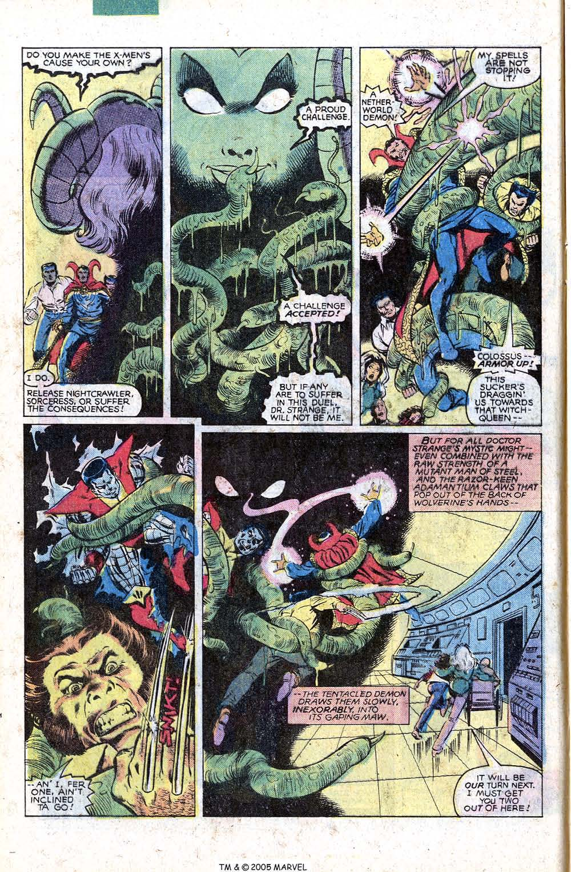 Read online Uncanny X-Men (1963) comic -  Issue # _Annual 4 - 12