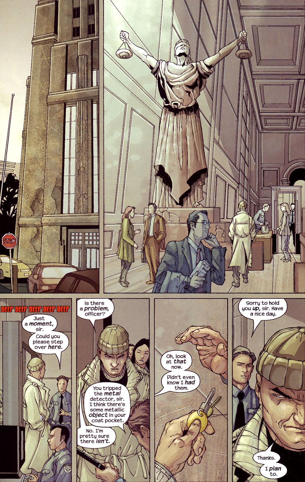 Read online Ultimate Elektra comic -  Issue #4 - 17
