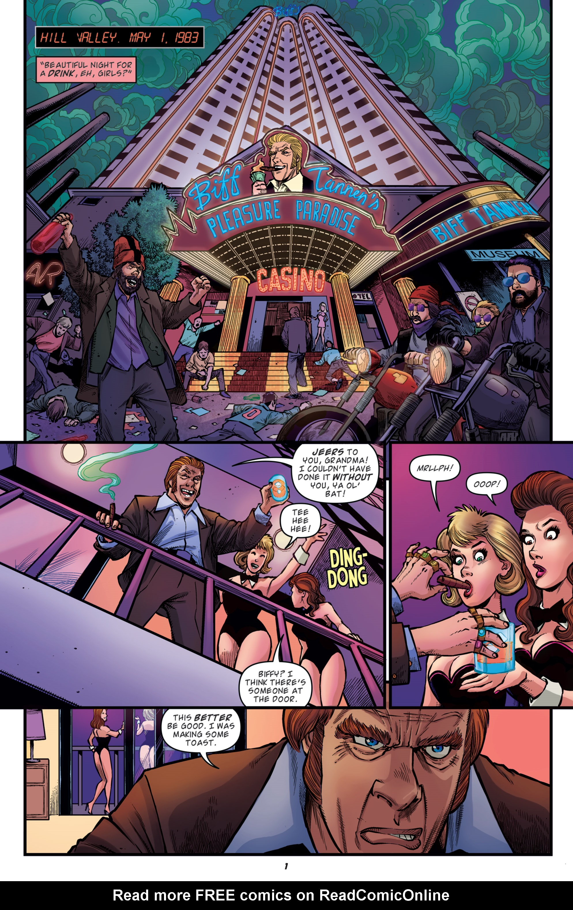 Read online Back to the Future: Biff to the Future comic -  Issue #5 - 3