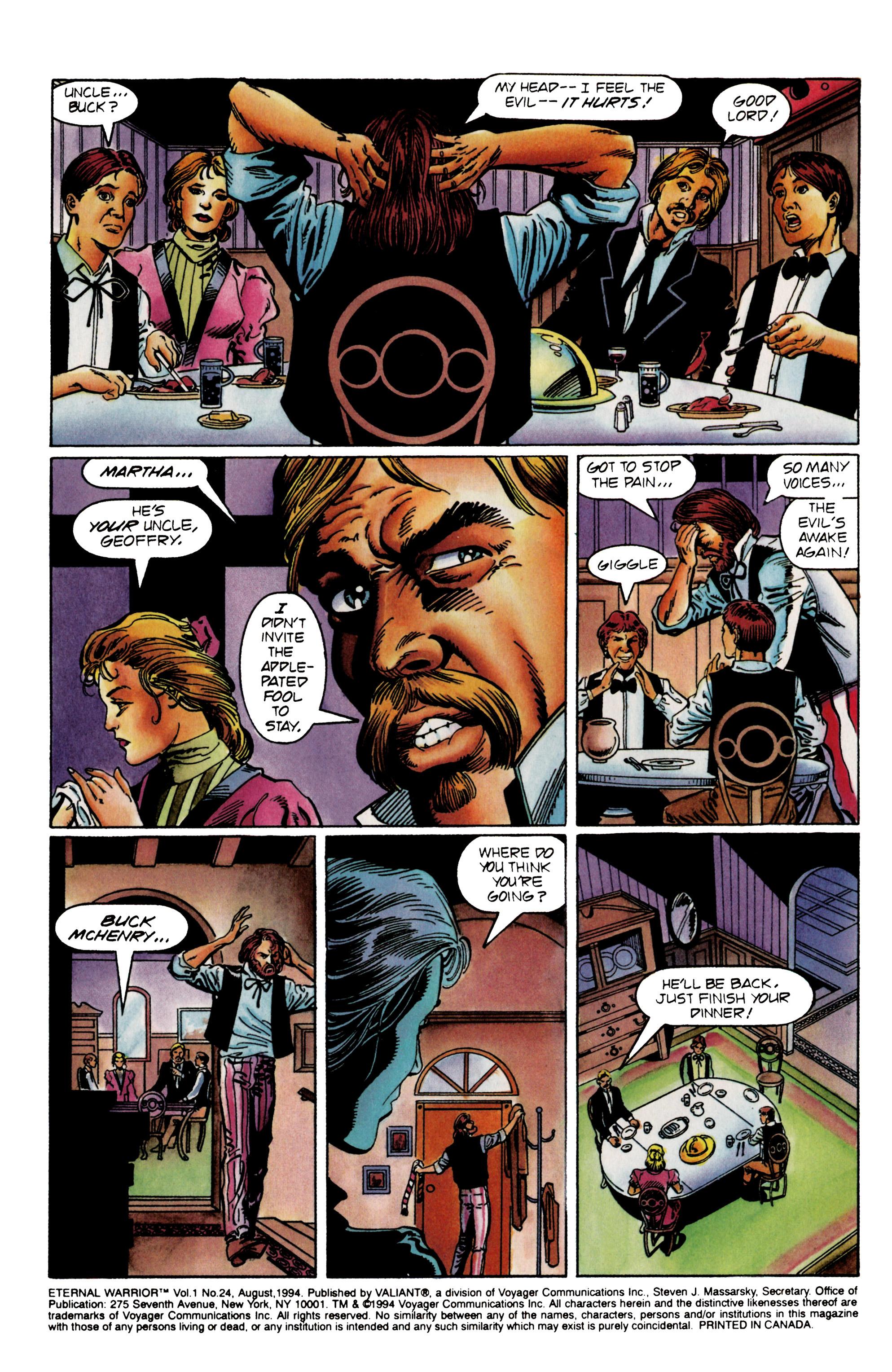 Read online Eternal Warrior (1992) comic -  Issue #24 - 3