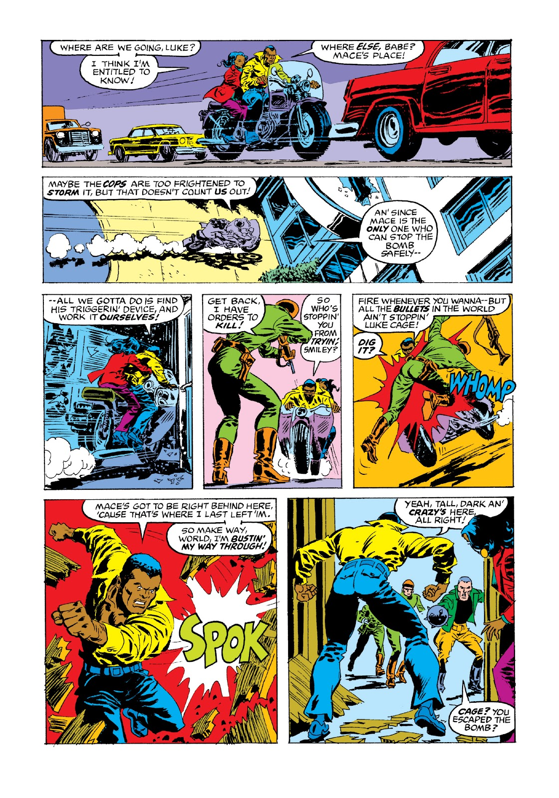 Read online Marvel Masterworks: Luke Cage, Power Man comic -  Issue # TPB 3 (Part 3) - 74