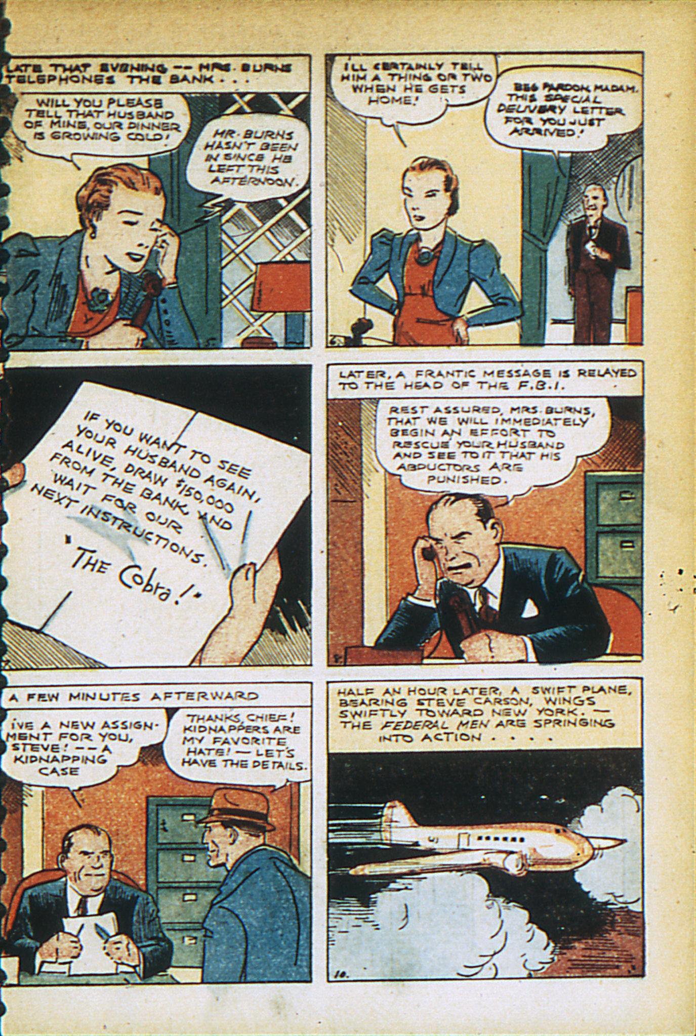 Read online Adventure Comics (1938) comic -  Issue #27 - 7