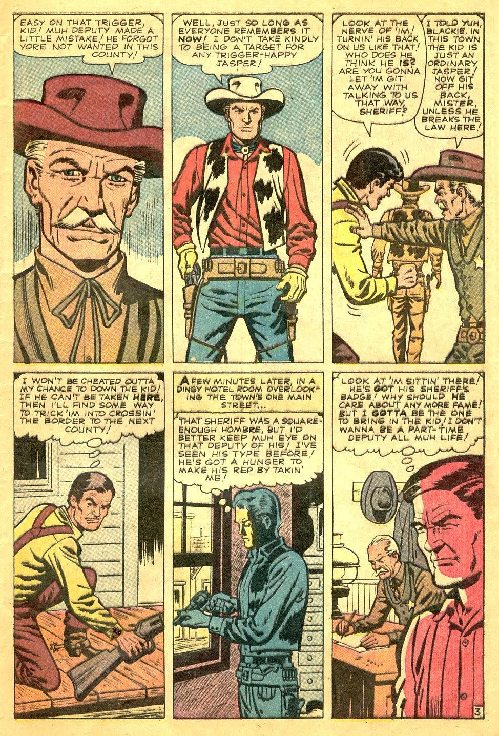 Gunsmoke Western issue 63 - Page 5