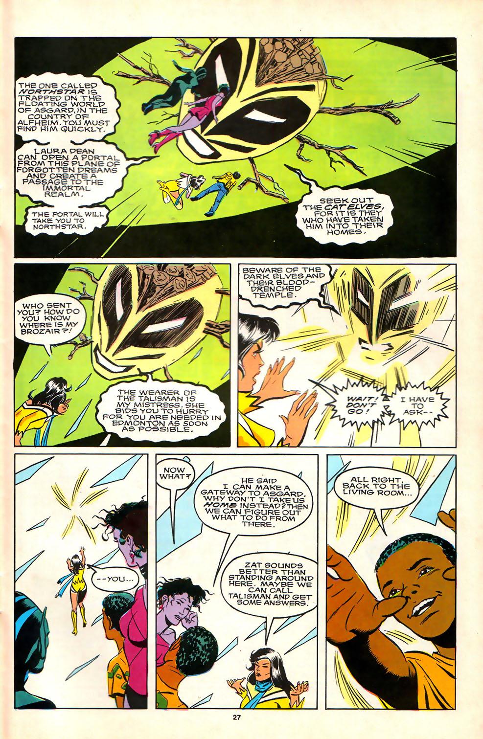 Read online Alpha Flight (1983) comic -  Issue #81 - 22