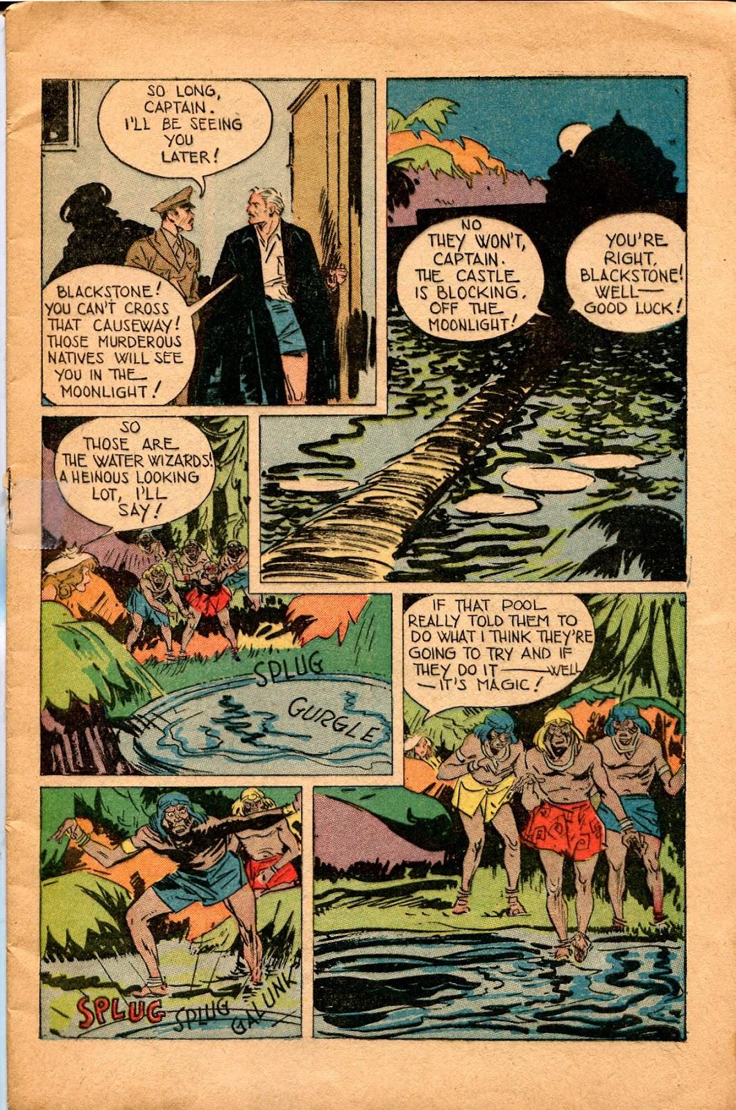 Read online Super-Magician Comics comic -  Issue #34 - 9