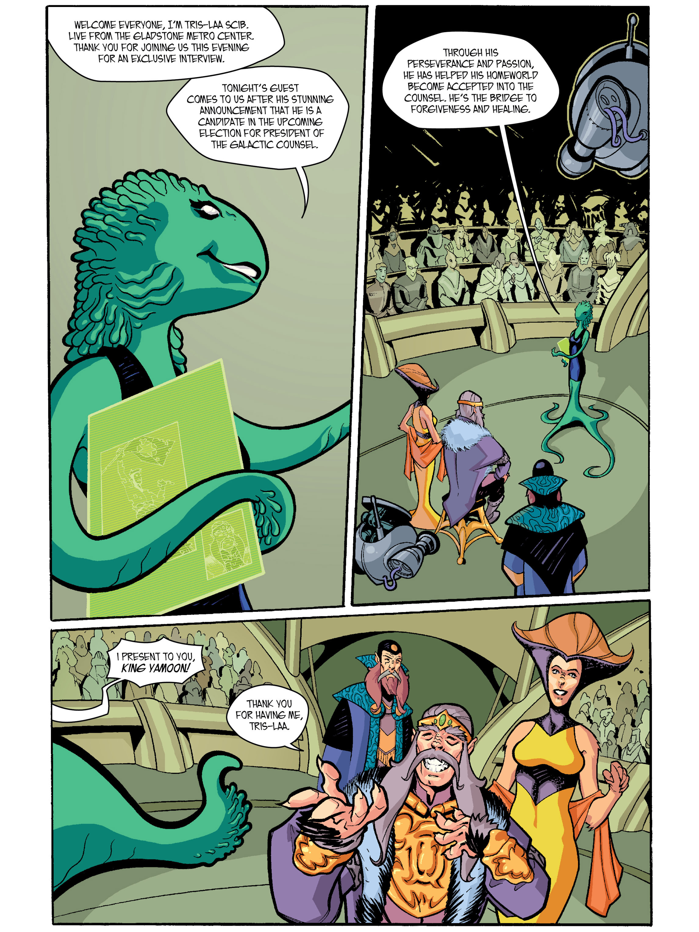 Read online Amber Atoms comic -  Issue #1 - 5