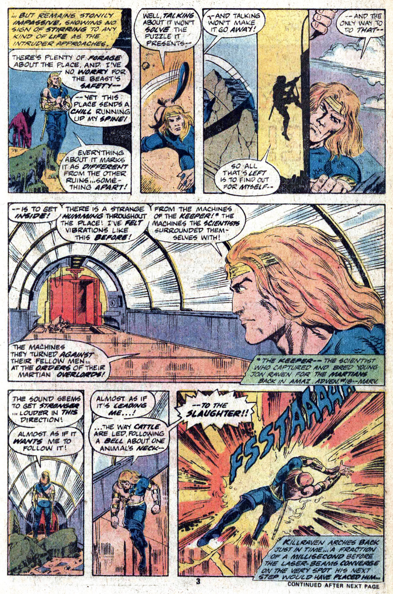 Read online Amazing Adventures (1970) comic -  Issue #38 - 5