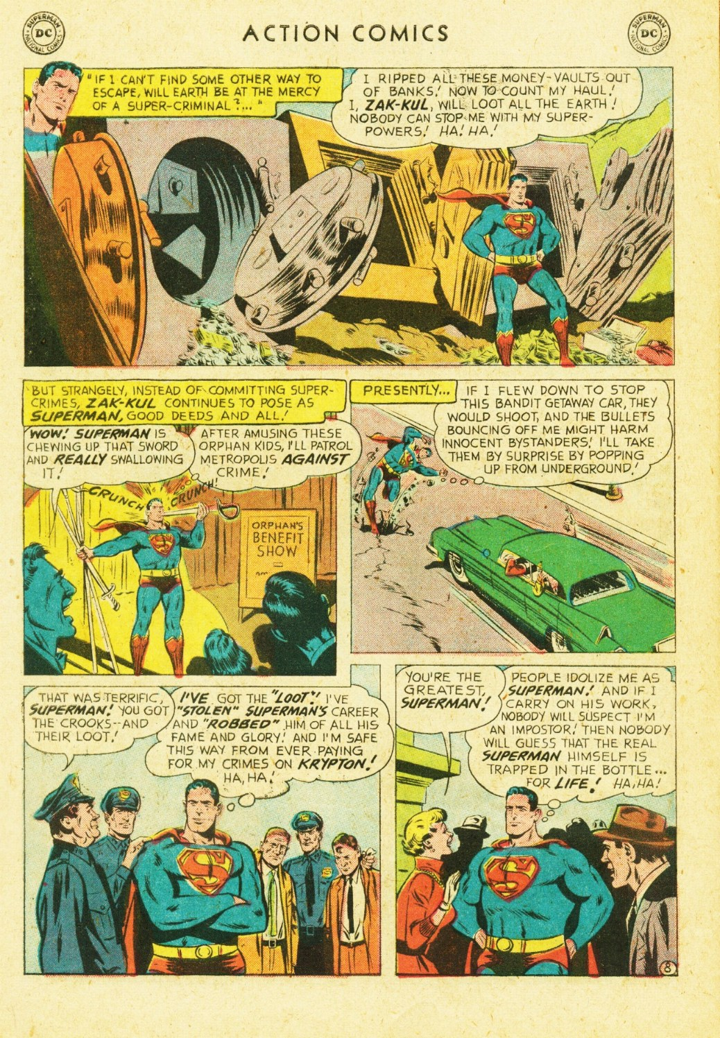 Read online Action Comics (1938) comic -  Issue #245 - 10