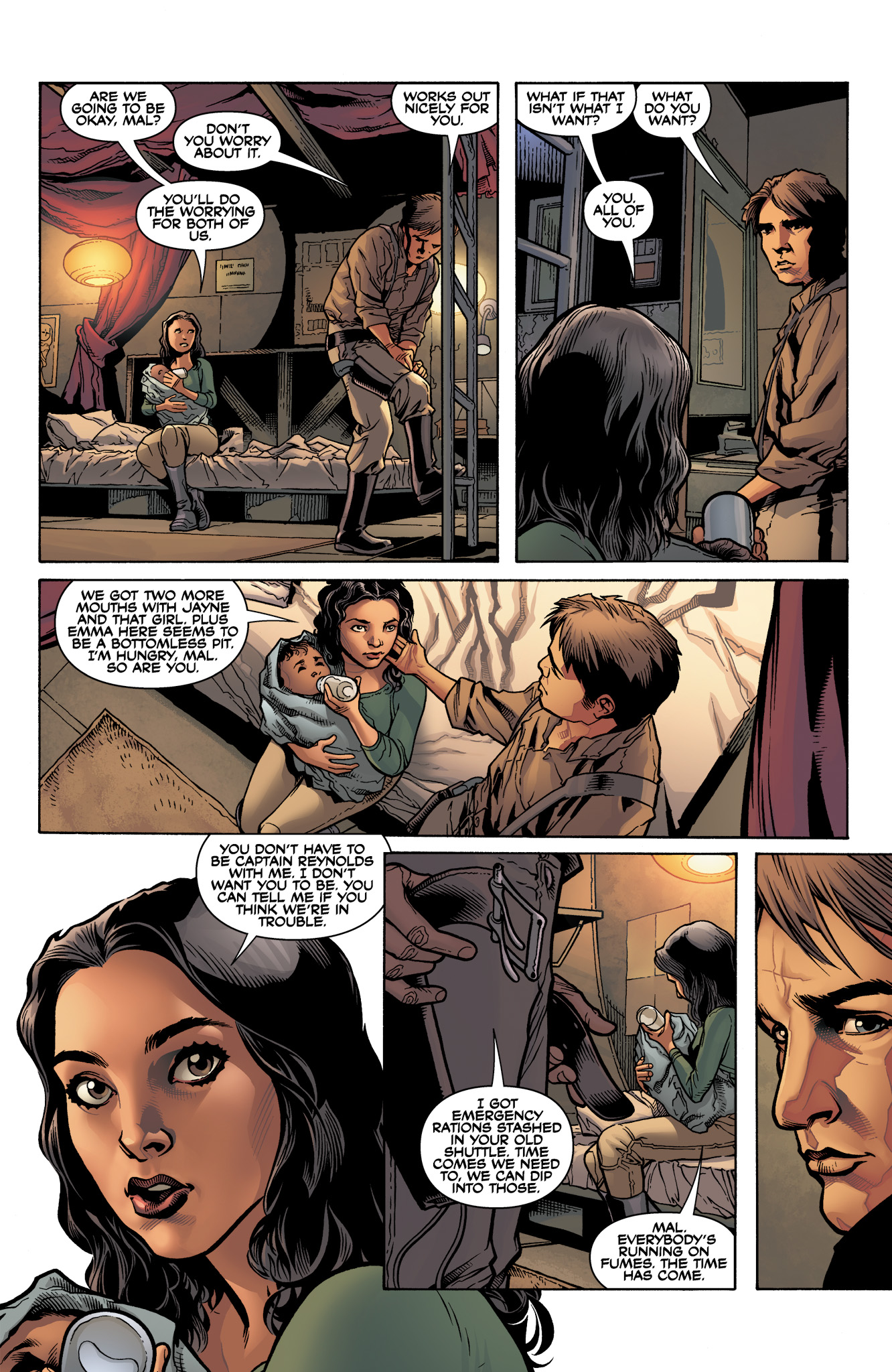 Read online Serenity: Firefly Class 03-K64  Leaves on the Wind comic -  Issue #3 - 9