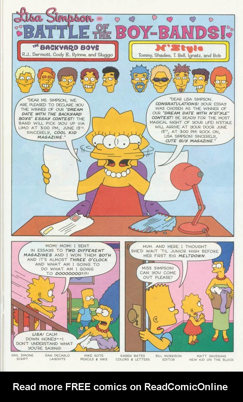 Read online Simpsons Comics Presents Bart Simpson comic -  Issue #3 - 21