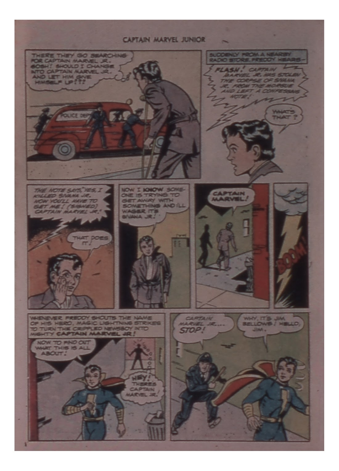 Captain Marvel, Jr. issue 59 - Page 28