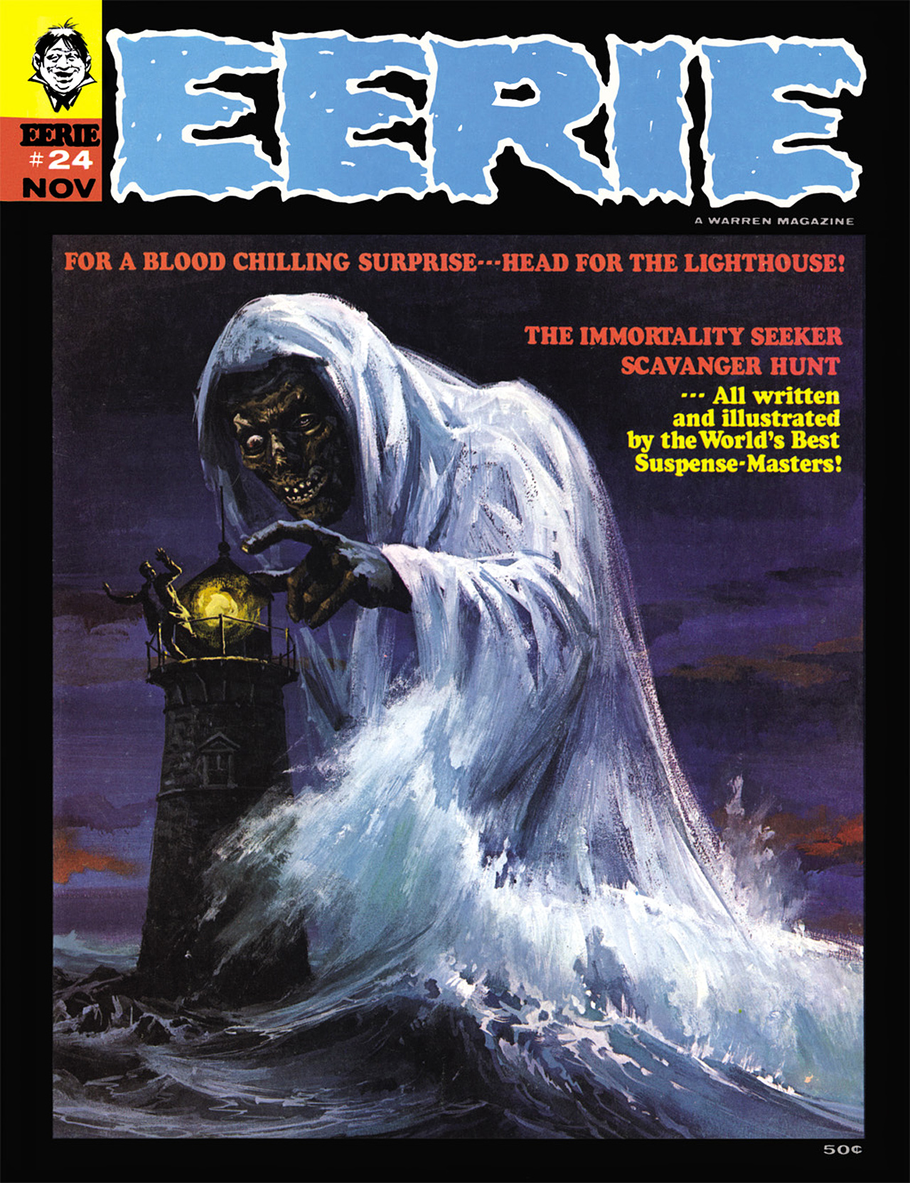 Read online Eerie Archives comic -  Issue # TPB 5 - 50