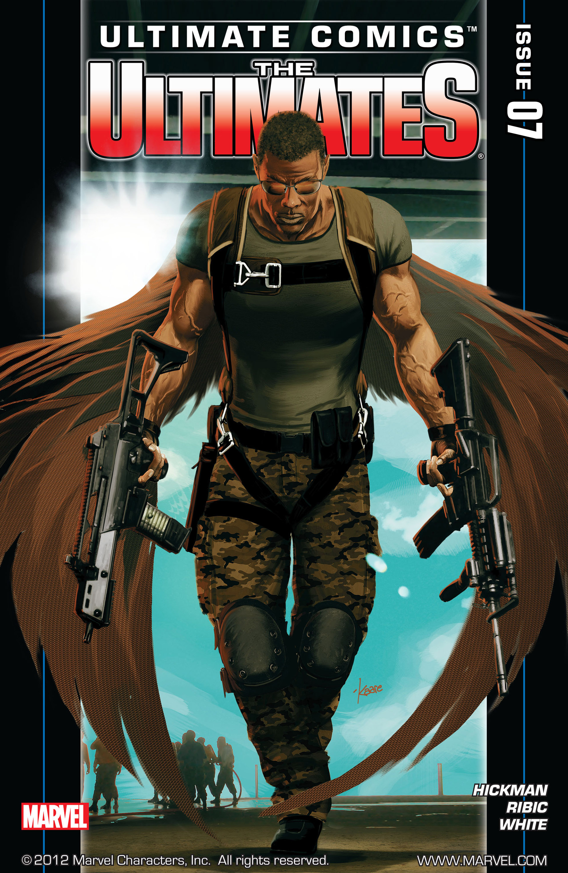 Read online Ultimate Comics Ultimates comic -  Issue #7 - 1