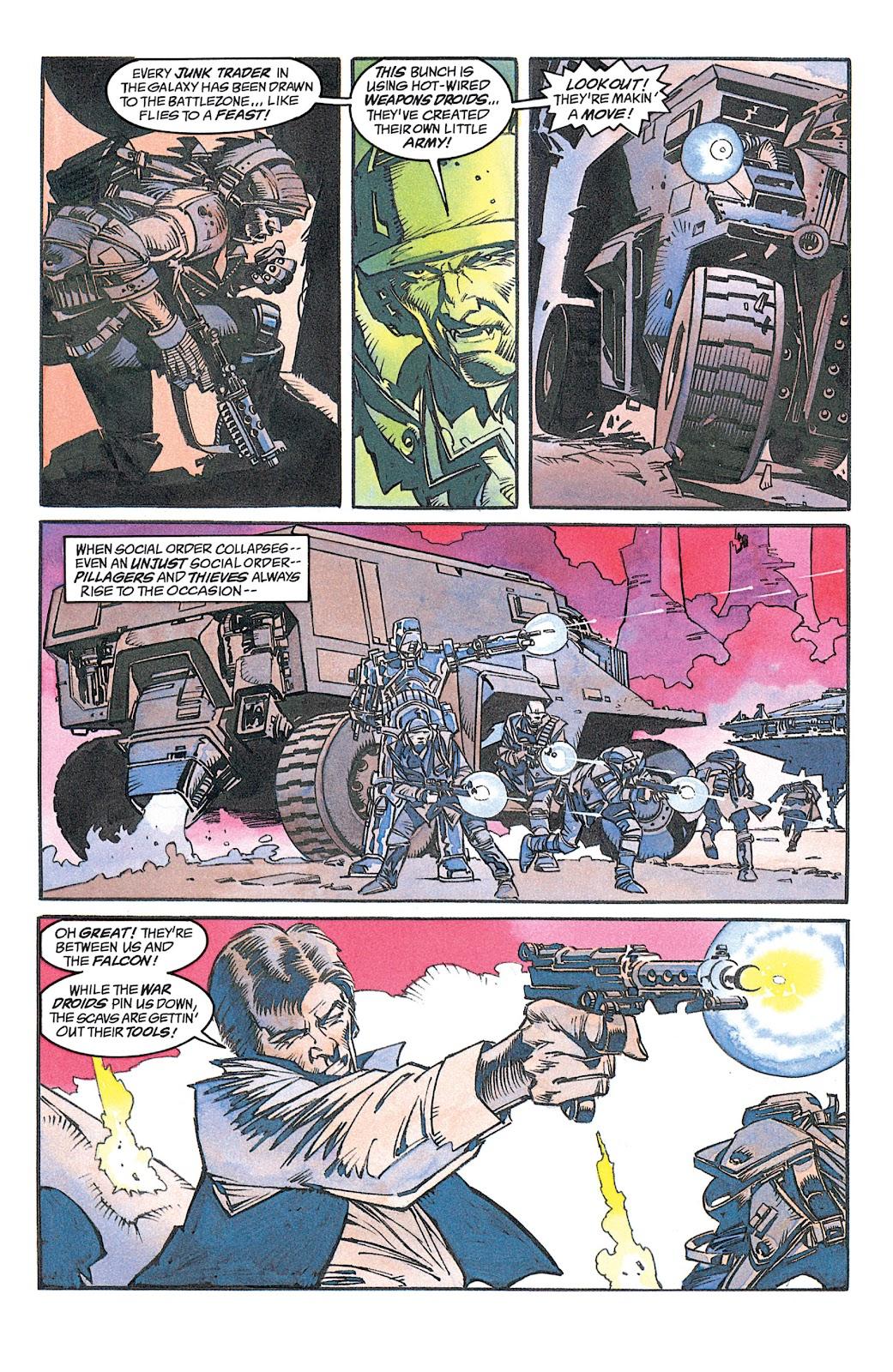 Read online Star Wars: Dark Empire Trilogy comic -  Issue # TPB (Part 1) - 18