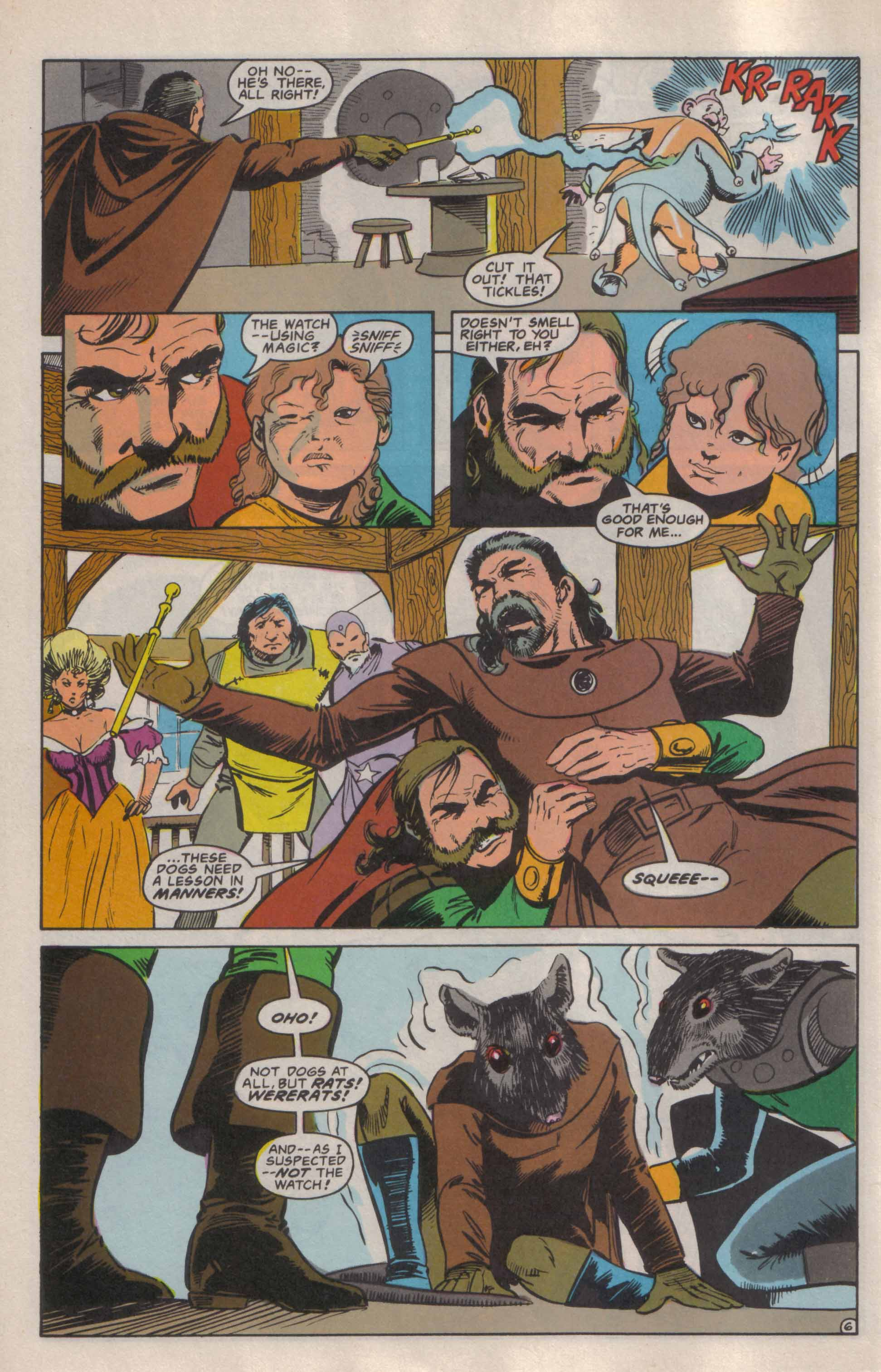Read online Advanced Dungeons & Dragons comic -  Issue #6 - 7