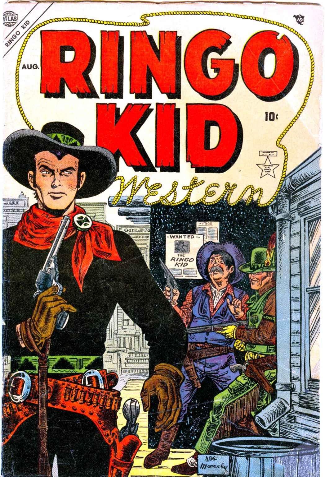Ringo Kid Western issue 1 - Page 1