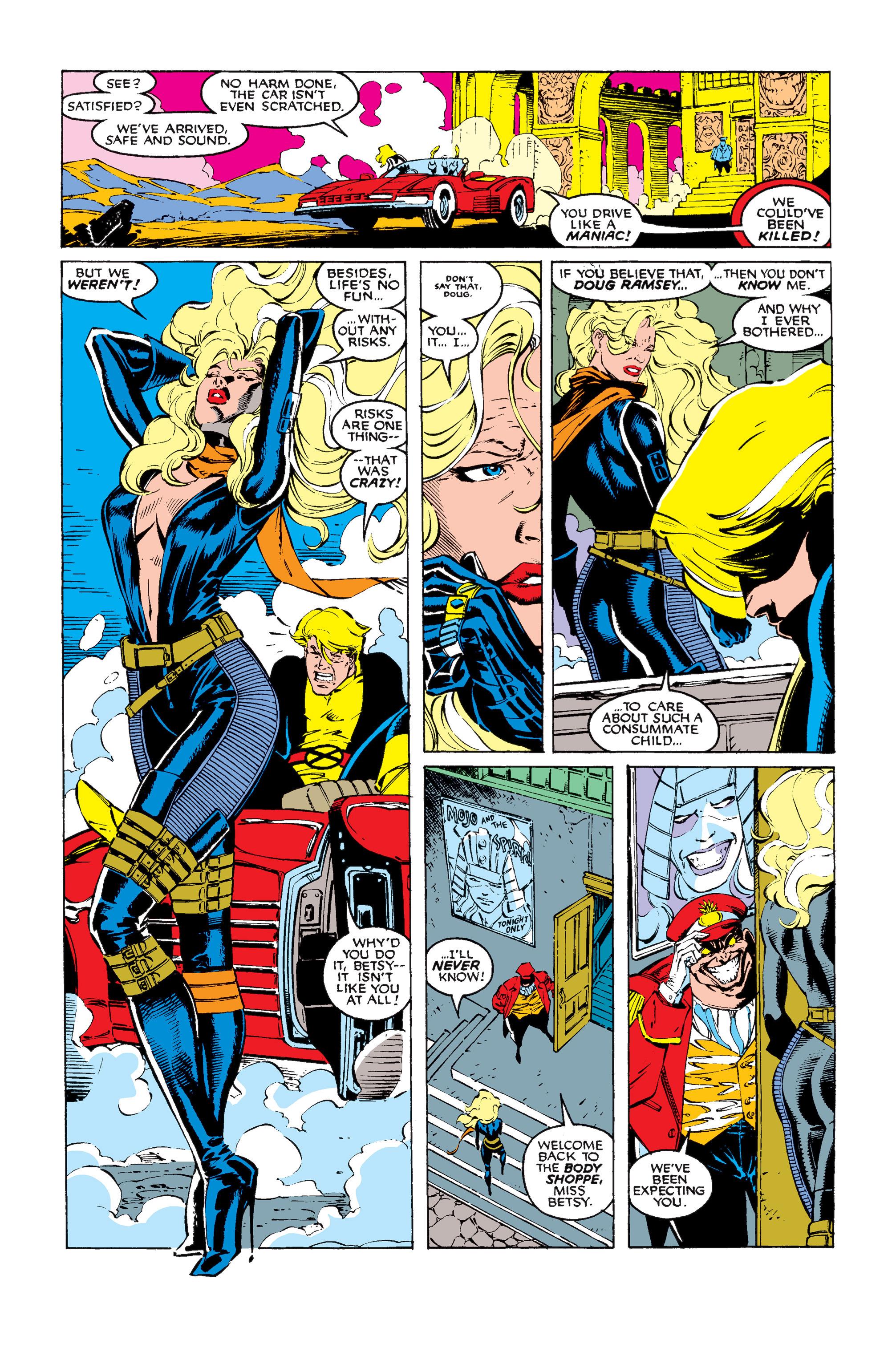 Read online Uncanny X-Men (1963) comic -  Issue #256 - 11