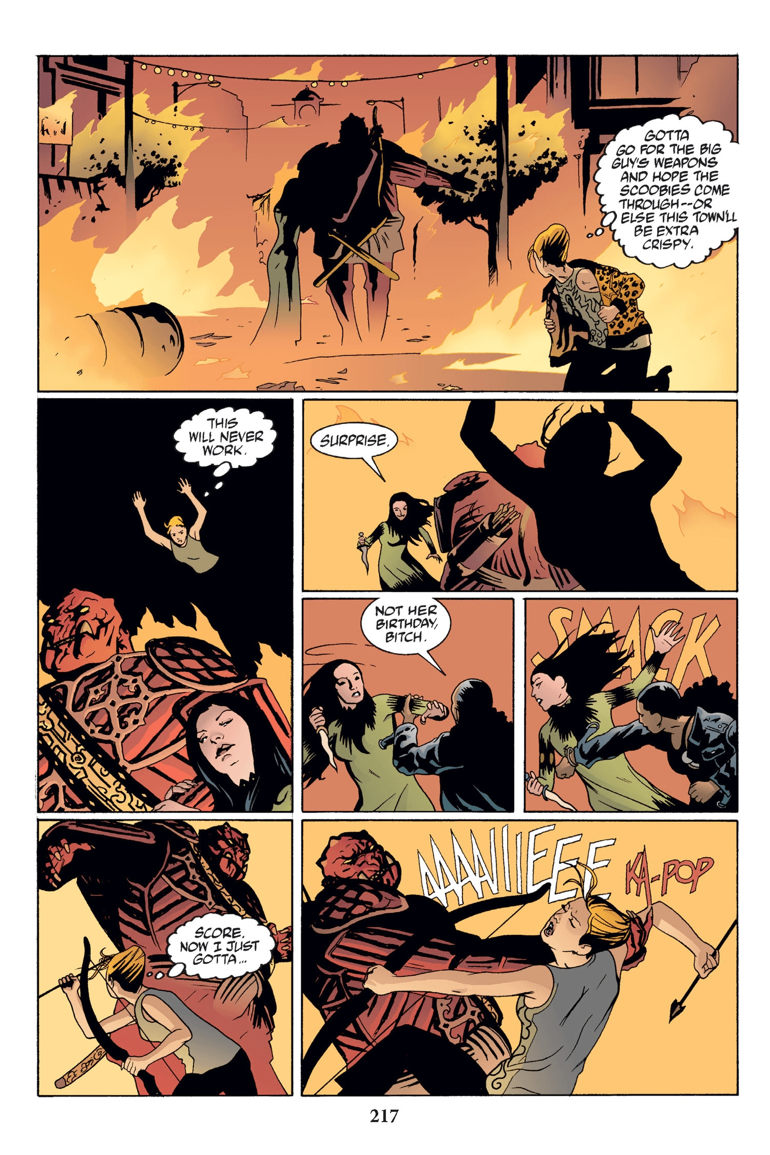 Read online Buffy the Vampire Slayer: Omnibus comic -  Issue # TPB 2 - 211