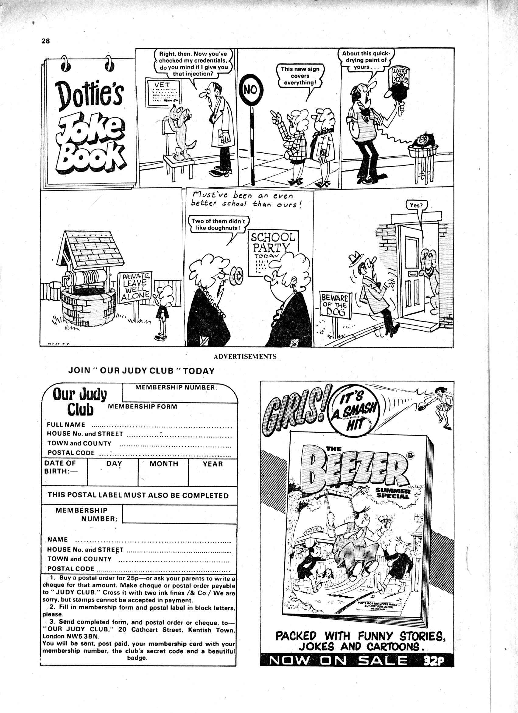 Read online Judy comic -  Issue #1116 - 28