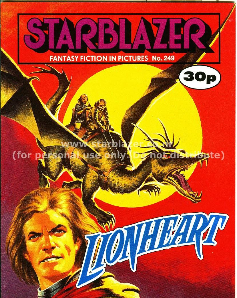 Starblazer issue 249 - Page 1