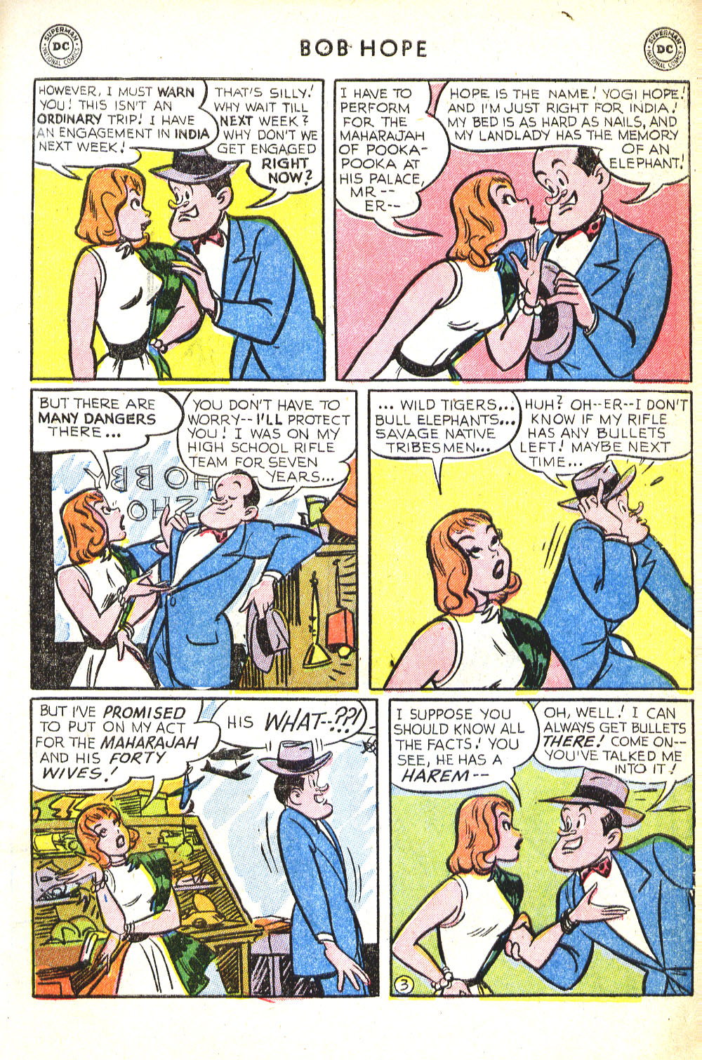 The Adventures of Bob Hope issue 30 - Page 5