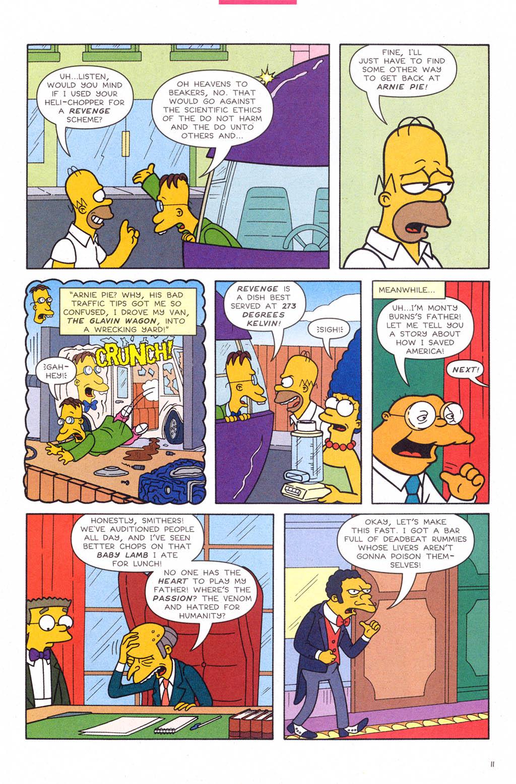 Read online Simpsons Comics comic -  Issue #109 - 12