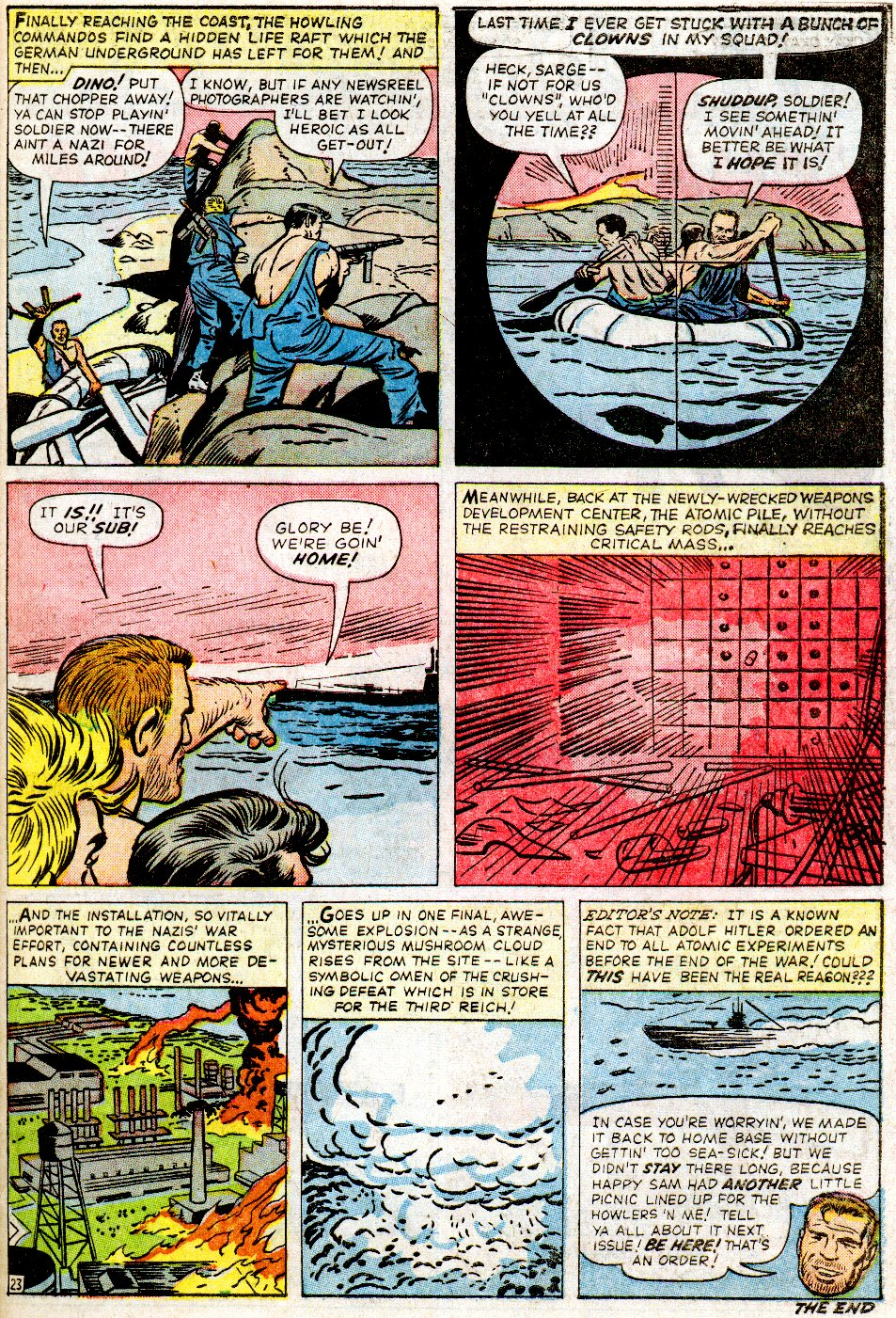 Read online Sgt. Fury comic -  Issue #2 - 31