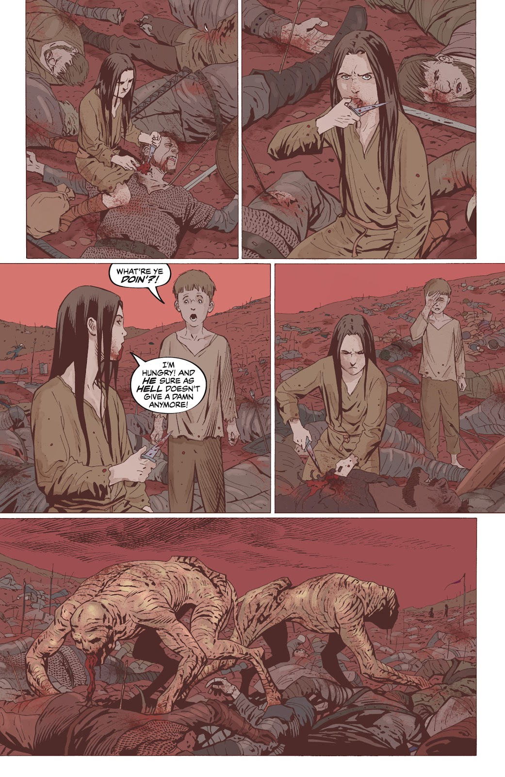 Read online The Witcher Omnibus comic -  Issue # TPB (Part 5) - 5