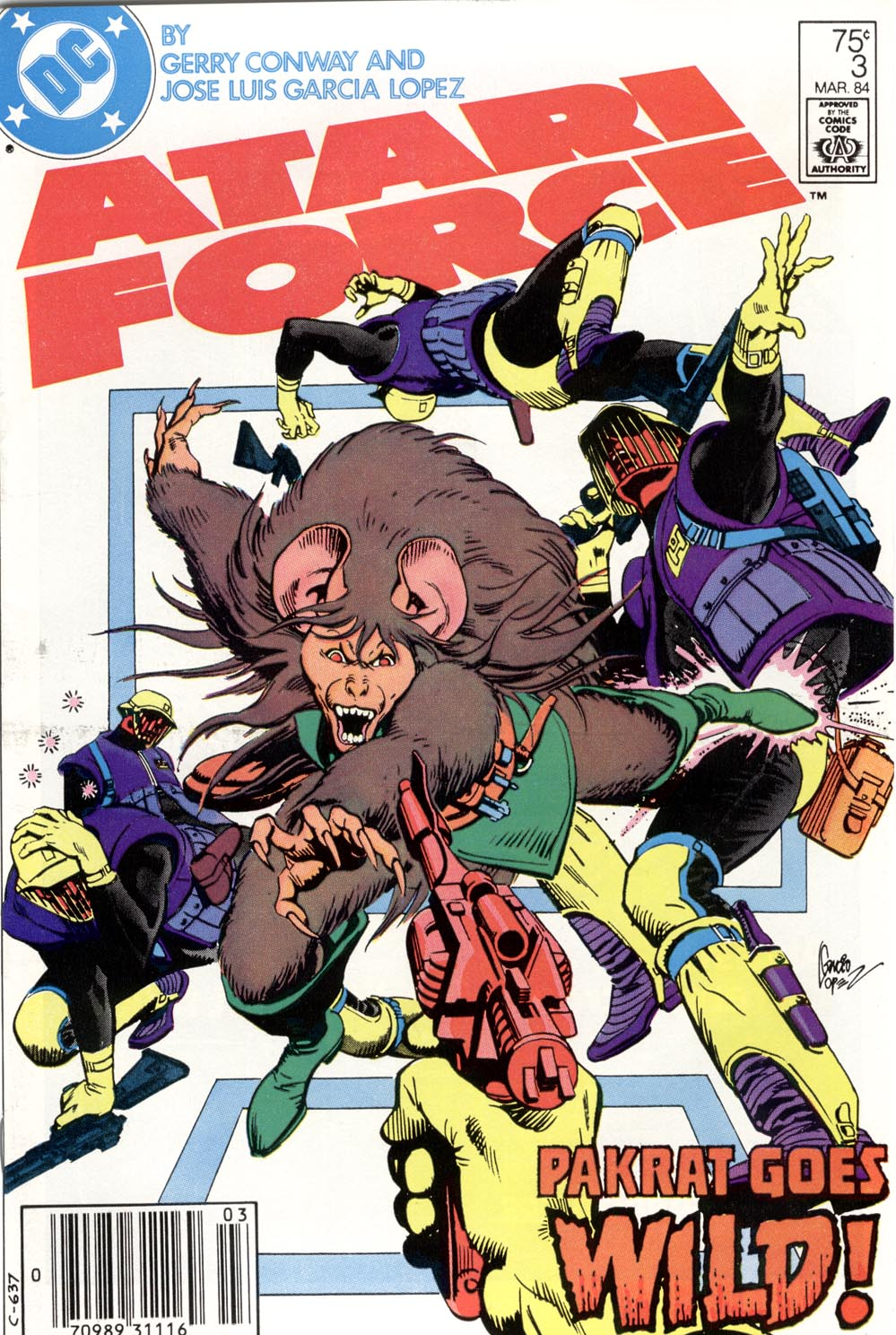 Atari Force (1984) 3 Page 1