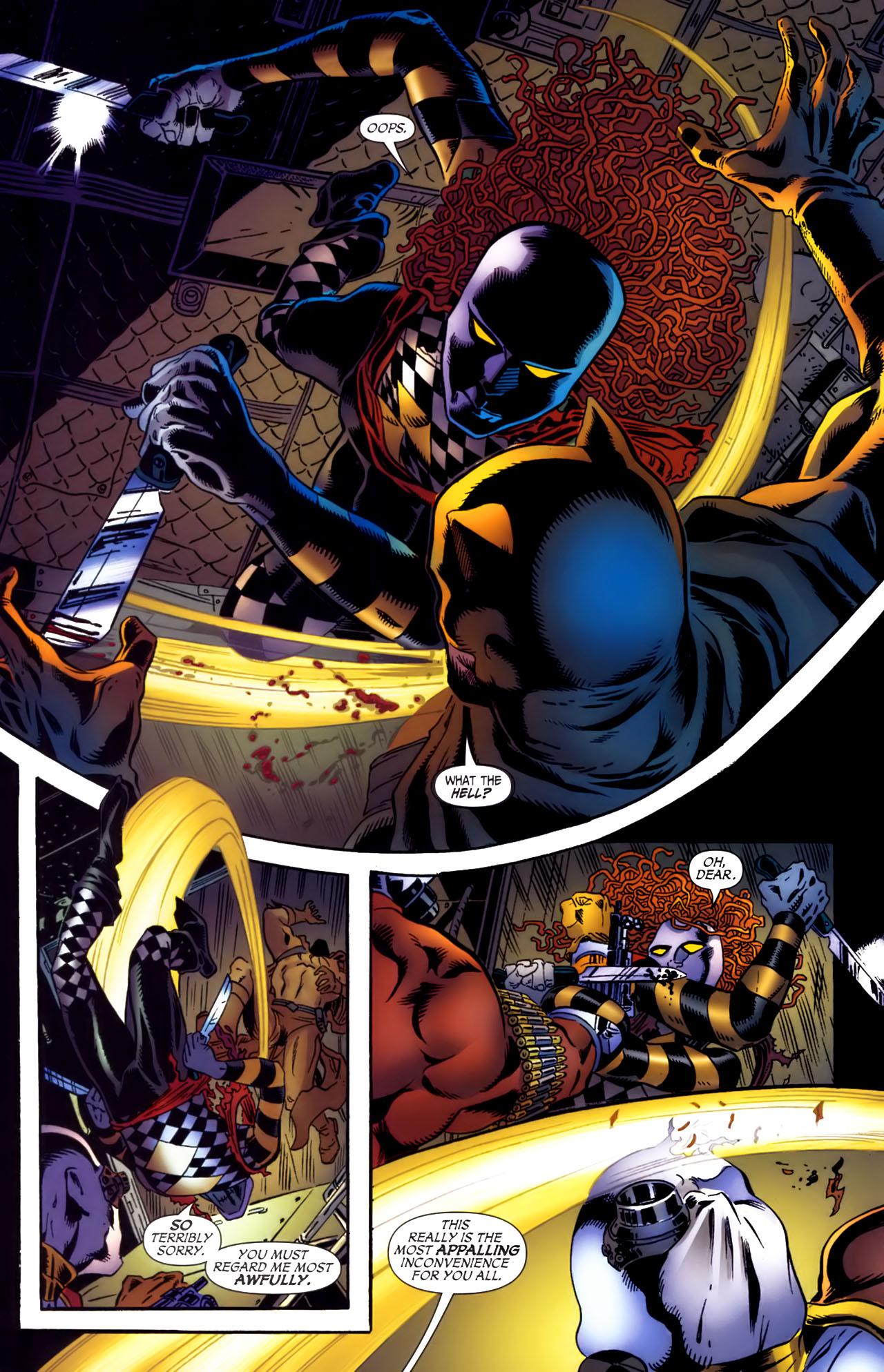 Read online Secret Six (2006) comic -  Issue #3 - 16