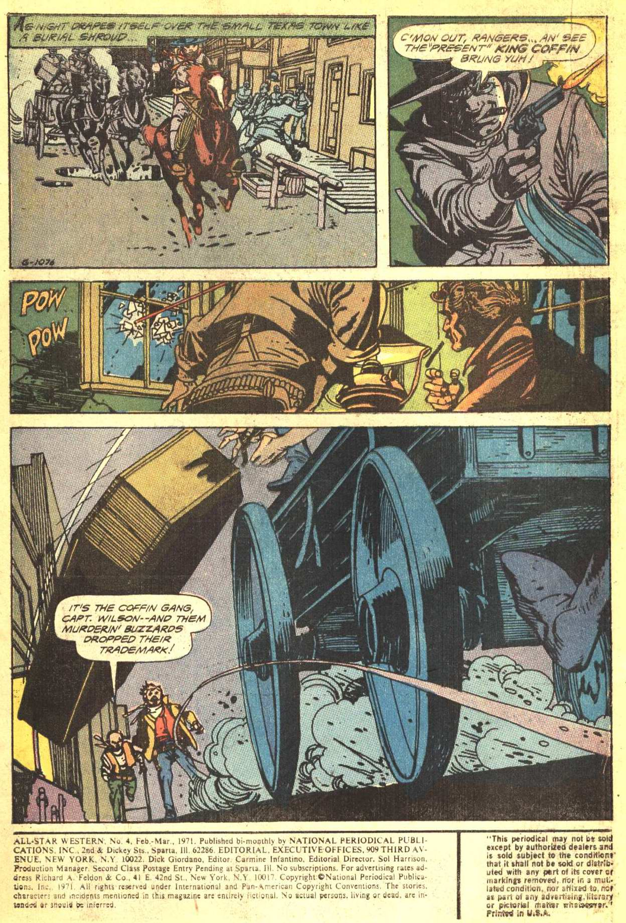 Read online All-Star Western (1970) comic -  Issue #4 - 2
