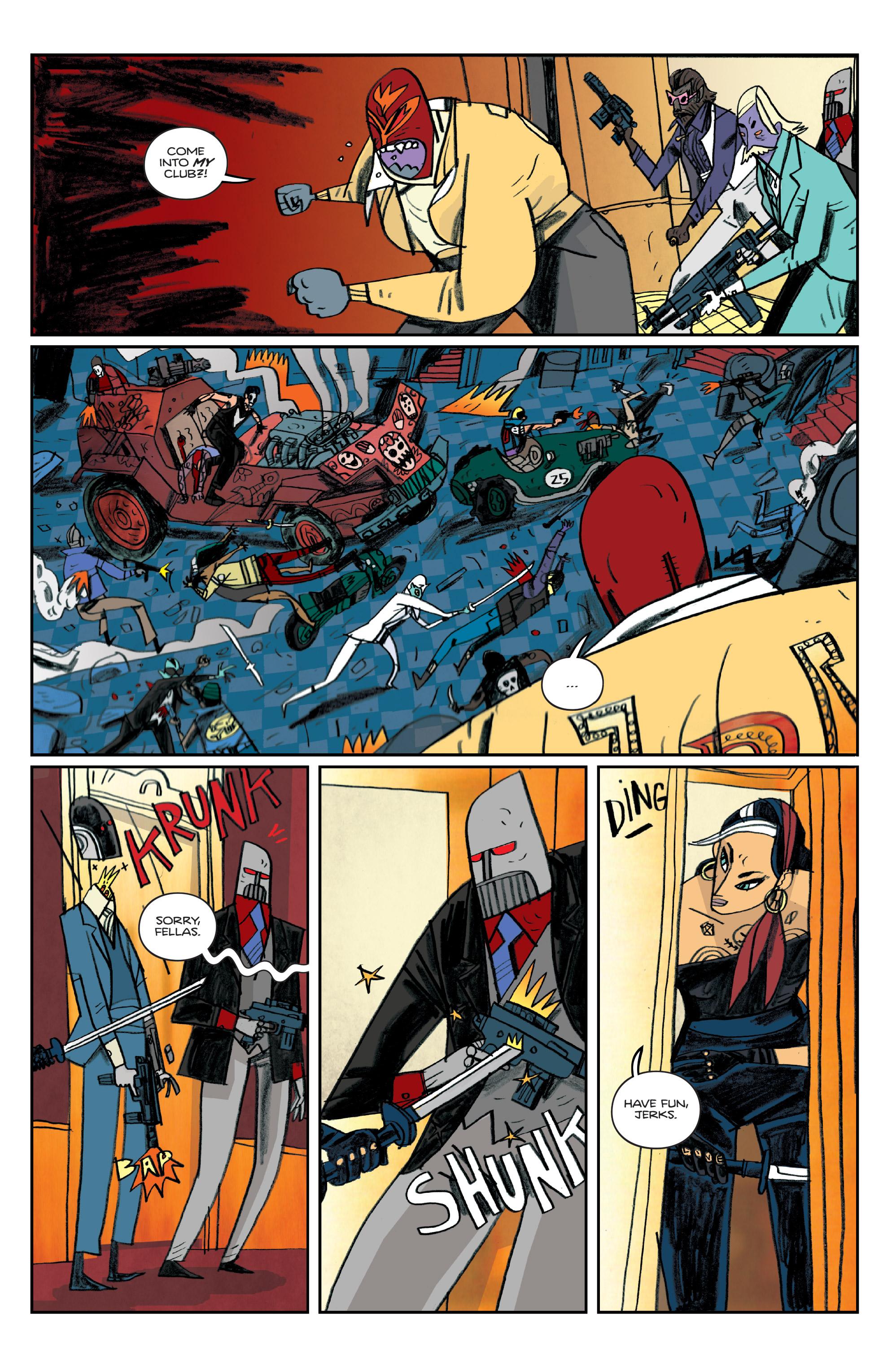 Read online Helena Crash comic -  Issue #4 - 19