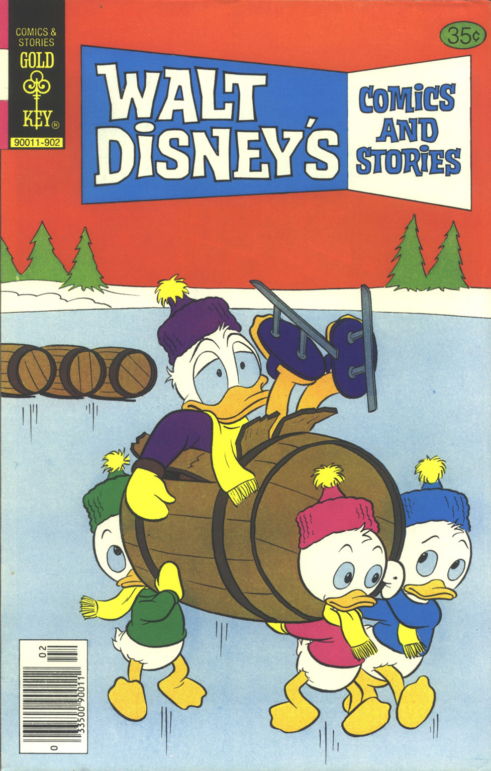 Walt Disney's Comics and Stories issue 461 - Page 1
