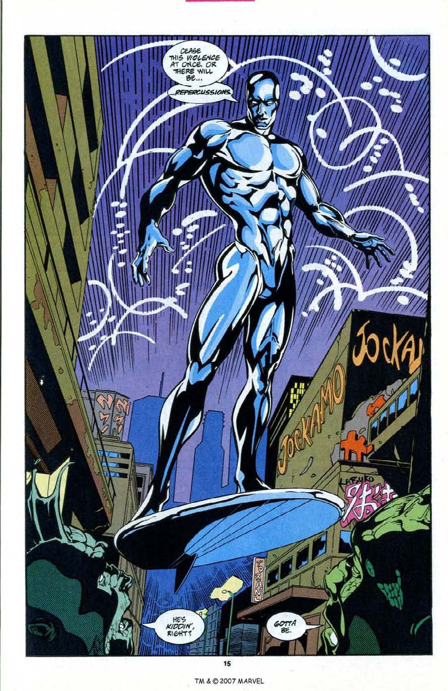 Read online Silver Surfer (1987) comic -  Issue # _Annual 6 - 17