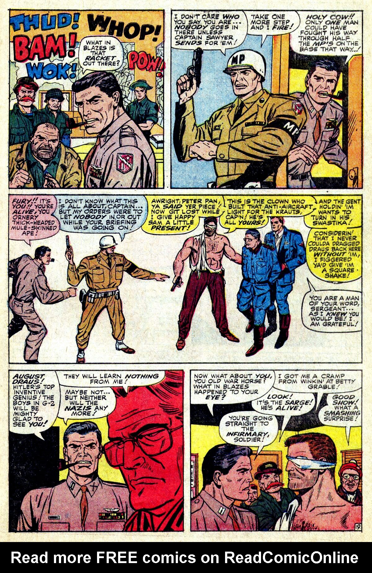 Read online Sgt. Fury comic -  Issue #27 - 27