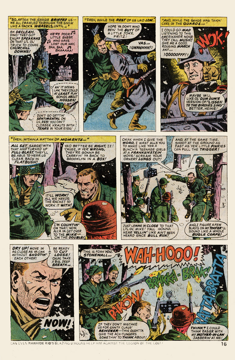Read online Sgt. Fury comic -  Issue #139 - 18