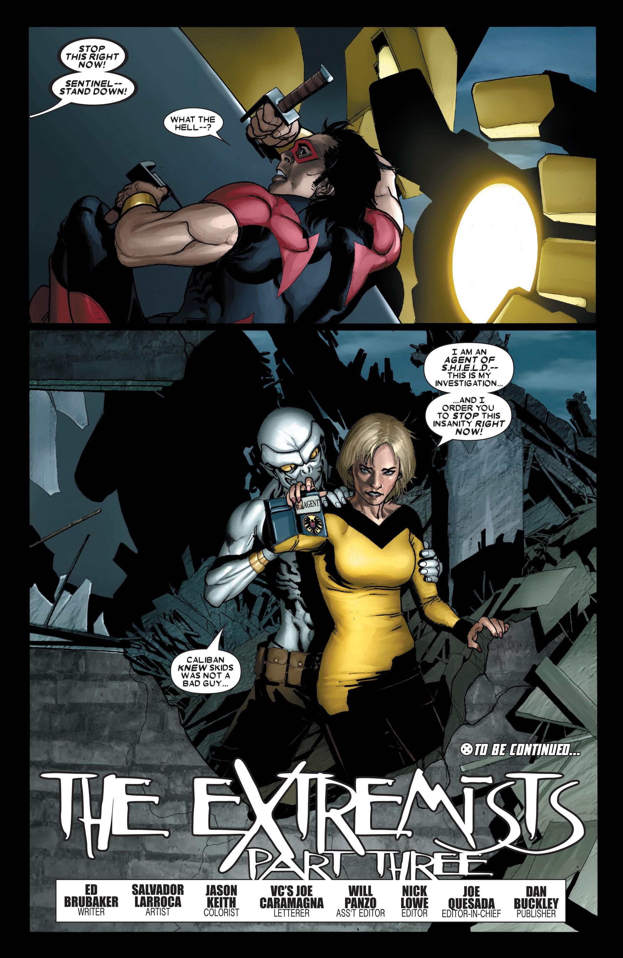 Read online Uncanny X-Men (1963) comic -  Issue #489 - 24