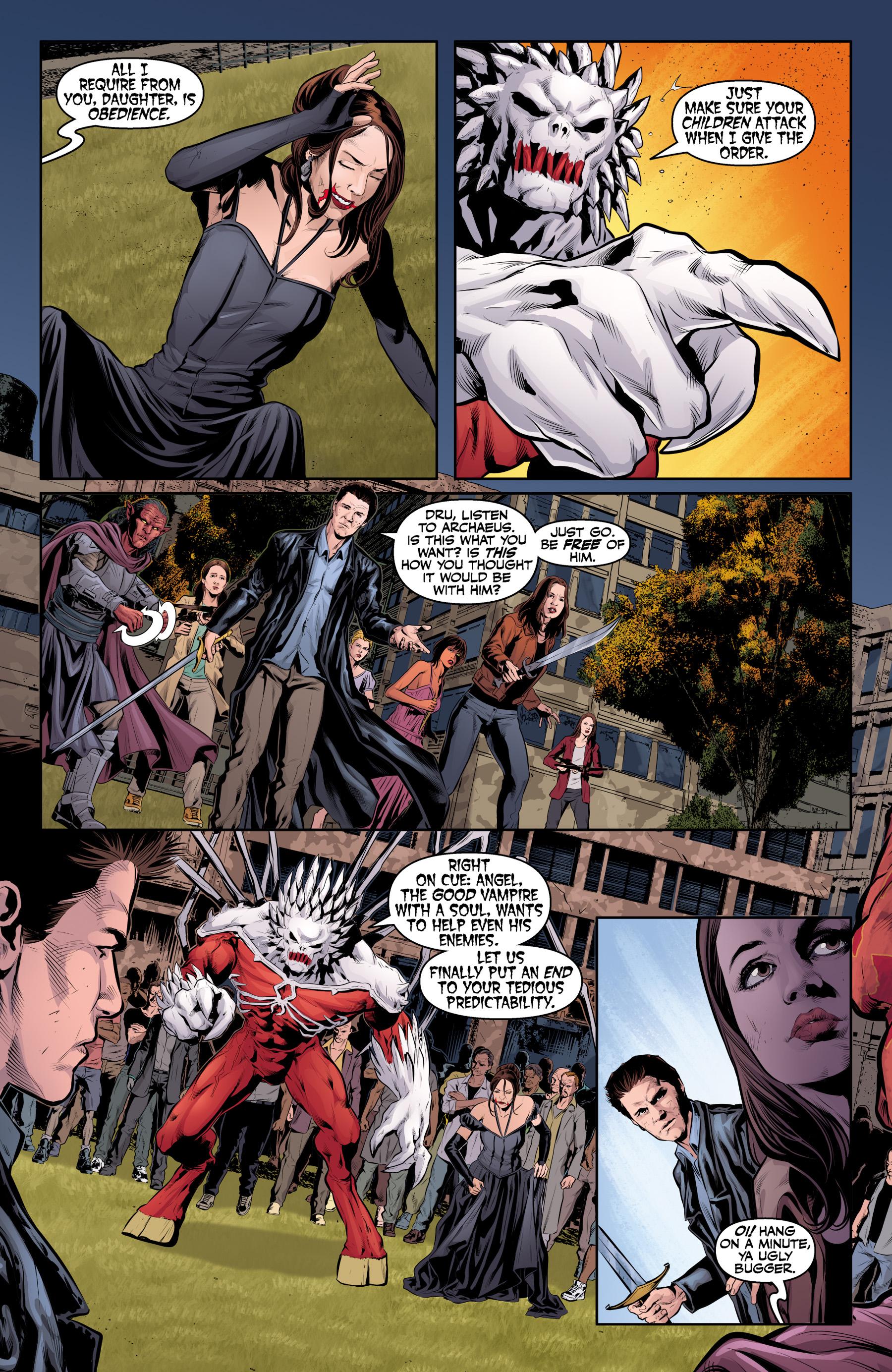 Read online Angel & Faith Season 10 comic -  Issue #25 - 4