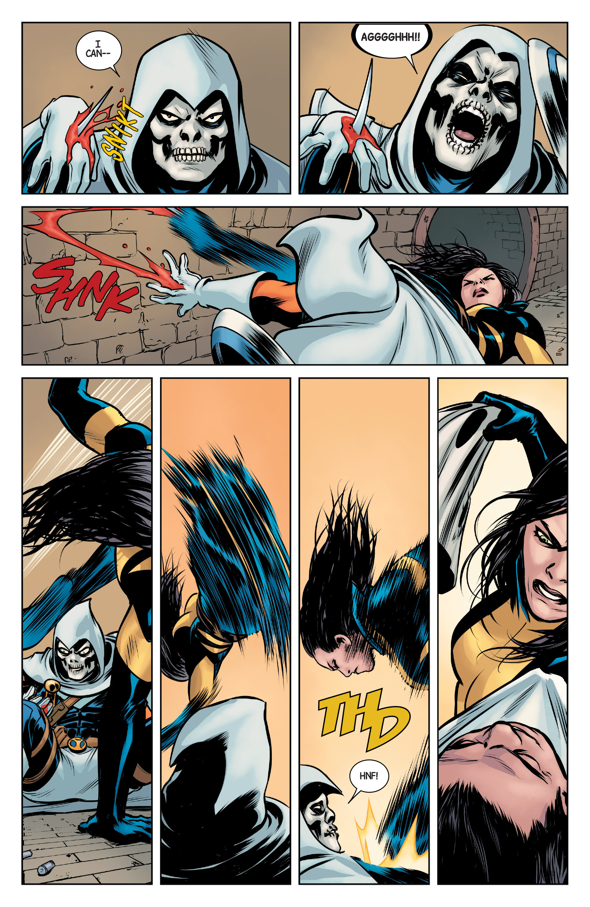 Read online All-New Wolverine (2016) comic -  Issue #3 - 5