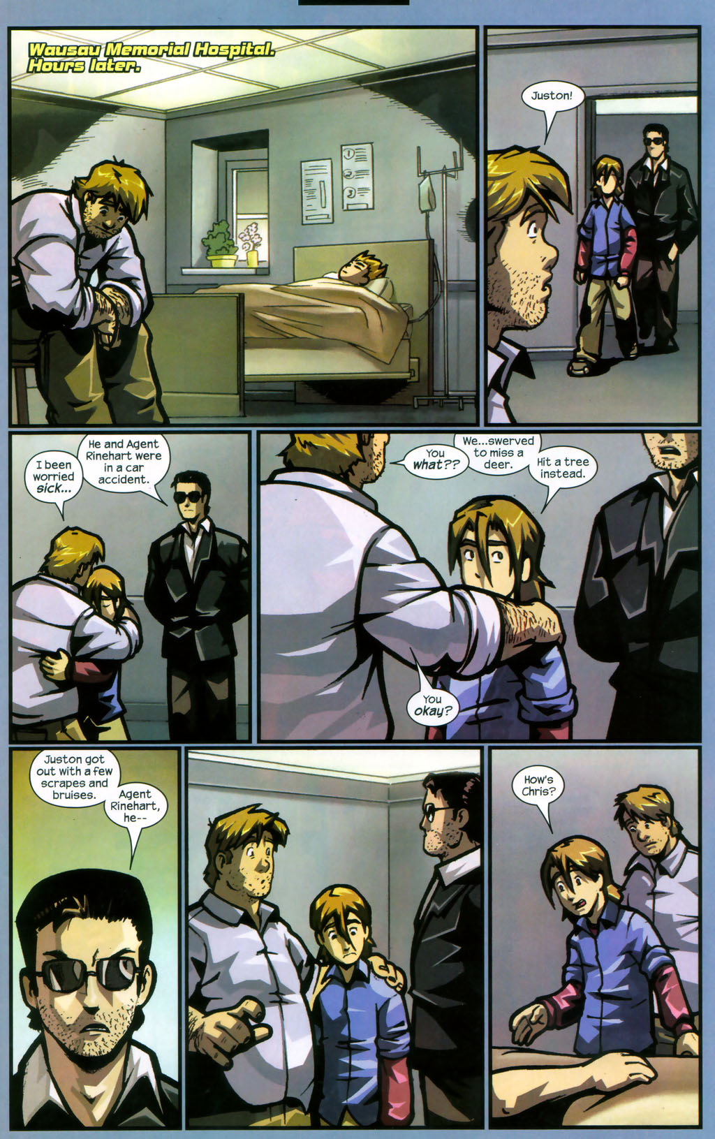 Read online Sentinel comic -  Issue #12 - 12