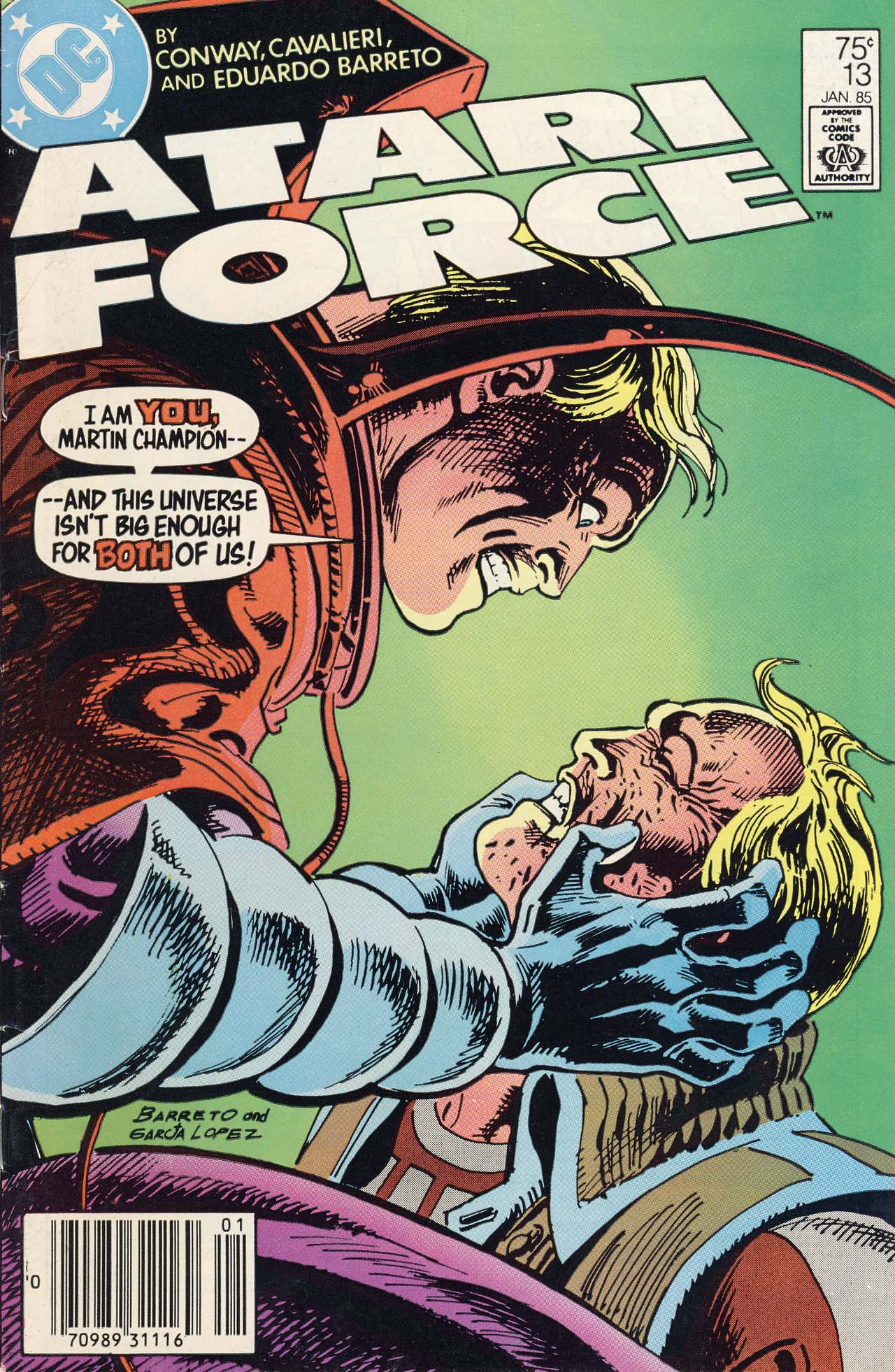 Read online Atari Force (1984) comic -  Issue #13 - 1